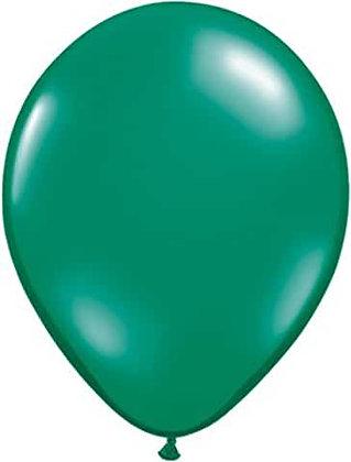 "8 x 11"" Green Balloons"