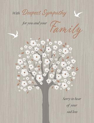 Family Sympathy Card