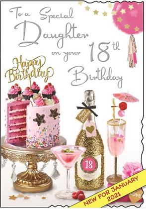 Daughter 18th Birthday