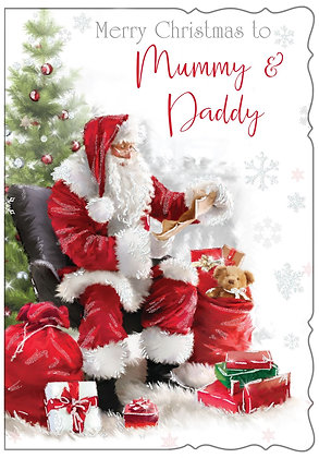 Mummy & Daddy at Christmas