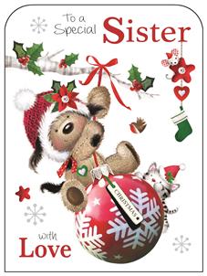 Sister at Christmas