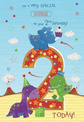 Personalise 2nd Birthday