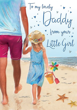 Father's Day Daddy From Your Little Girl