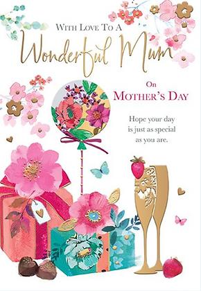 Wonderful Mum On Mother's Day