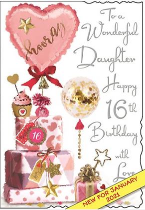 Daughter 16th Birthday