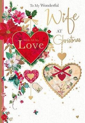 Wonderful Wife At Christmas