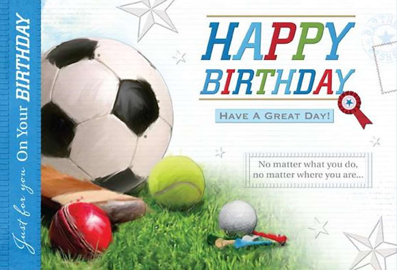 Happy Birthday - Football