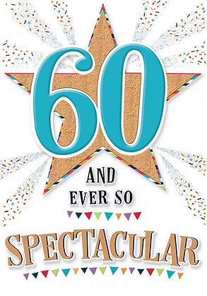 60 and Spectacular
