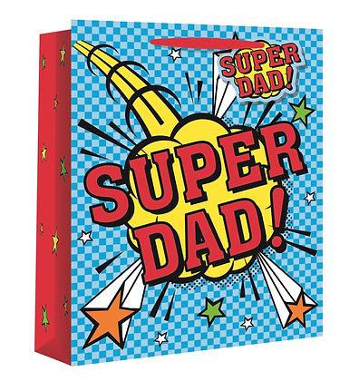 Super Dad Gift Medium Bag