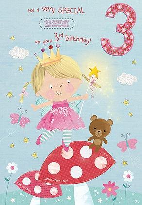 Personalise 3rd Birthday