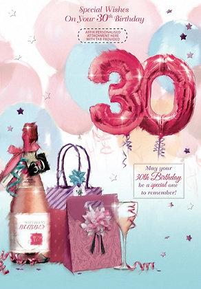 Personalise 30th Birthday