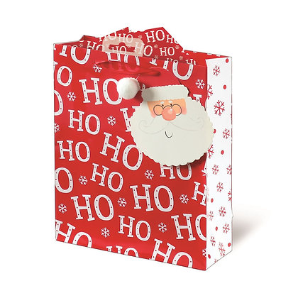Ho Ho Ho Christmas Gift Bag