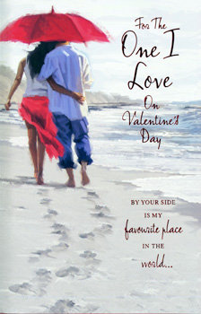 One I Love On Valentines Day - Large