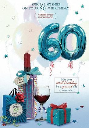 60th Personalised Birthday