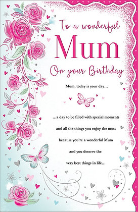 Mum On Your Birthday