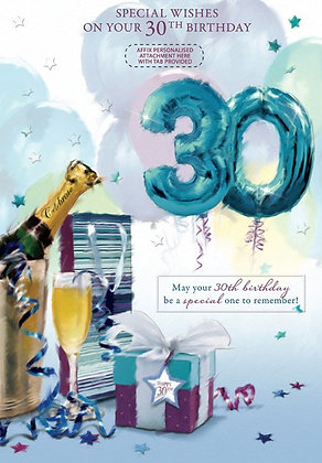 30th Personalised Birthday