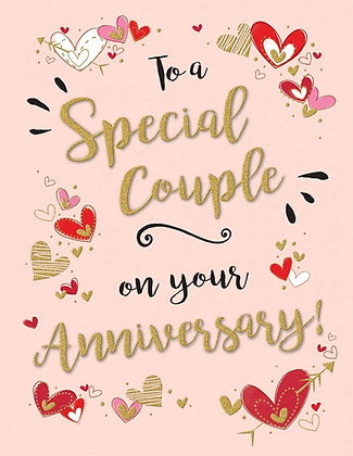 Special Couple On Your Anniversary