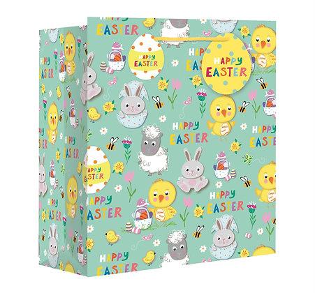 Large Easter Gift Bag (Wide Base)