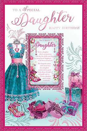 Daughter Birthday Keepsake