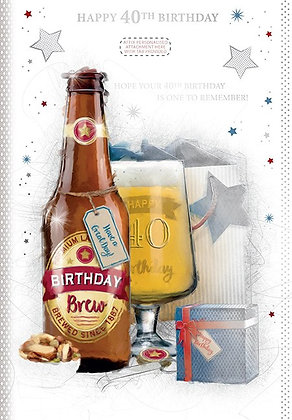 40th Personalised Birthday