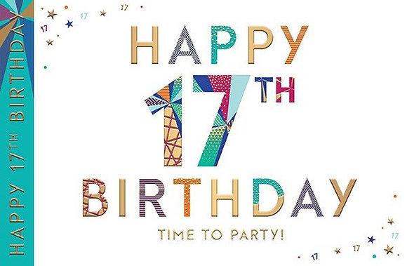 Happy 17th Birthday
