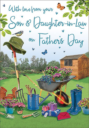 Father's Day From Your Son & Daughter In Law