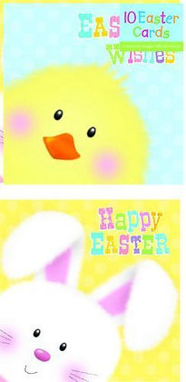 10 Pk Easter Cards