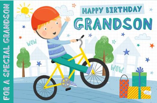Grandson Birthday