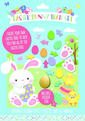 39 Pcs Easter Bunny Trail Set