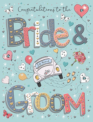 Bride & Groom - Wedding Day