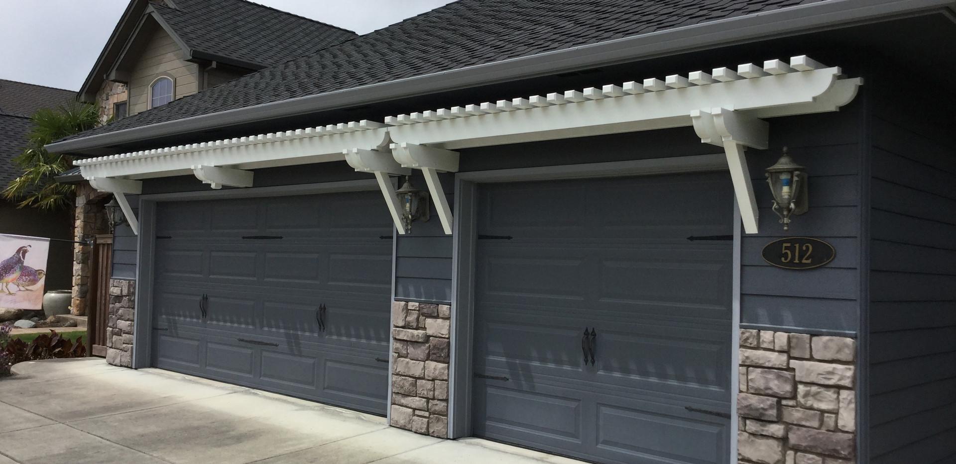 Garage Door Trellis