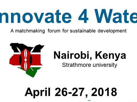Innovate 4 Water Nairobi - April 26-27 2018