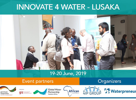 """Innovate 4 Water"": A multi-stakeholder approach to stimulate innovation and entrepreneurship in wat"