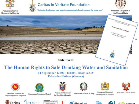 UN HUMAN RIGHTS COUNCIL - SIDE-EVENT SUPPORTED BY WATERPRENEURS
