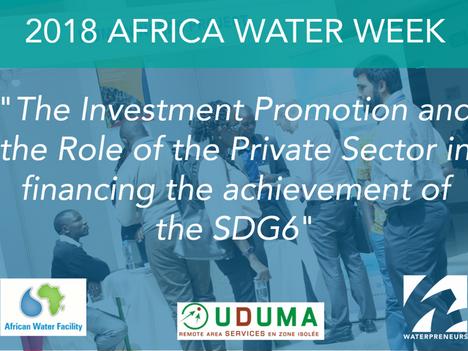 2018 Africa Water Week