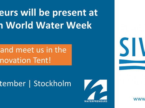 Waterpreneurs at Stockholm World Water Week 2017