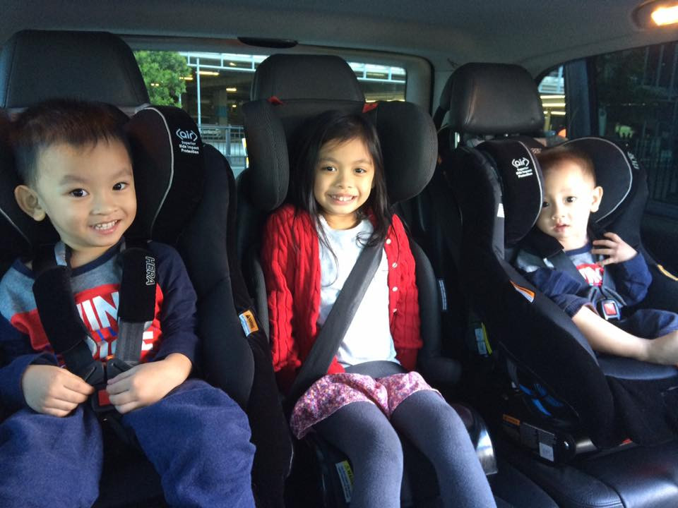 Newborn, toddler and childrens taxi service