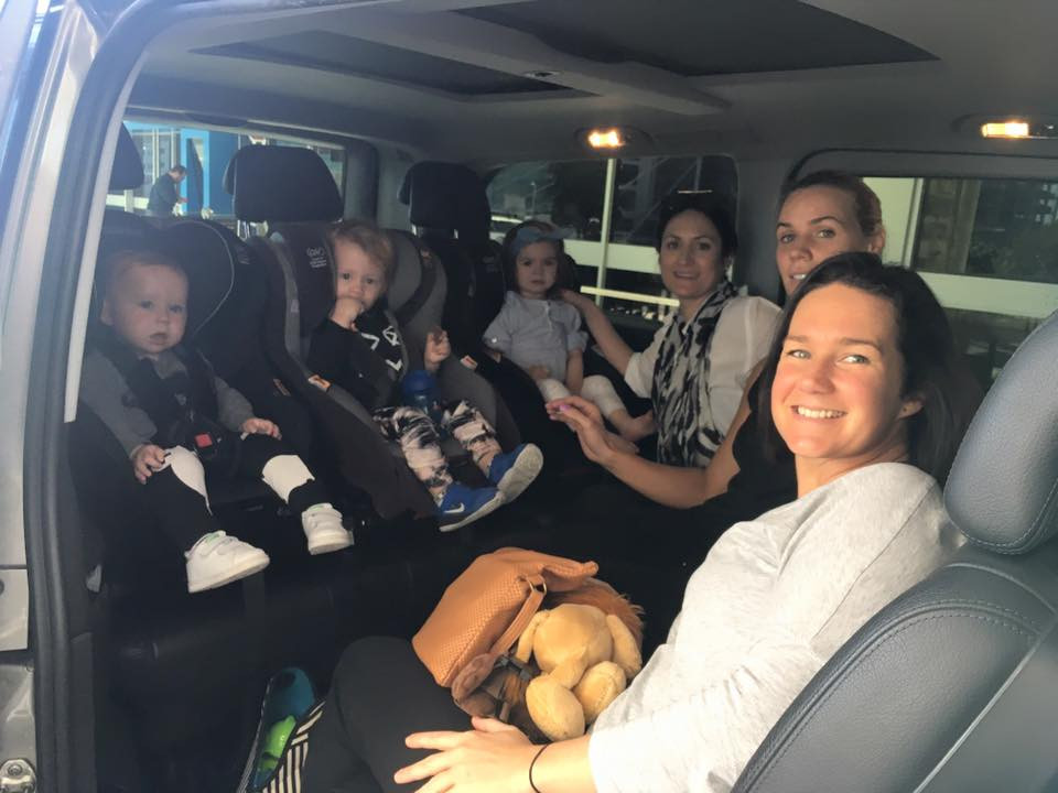 Airport taxi service for families