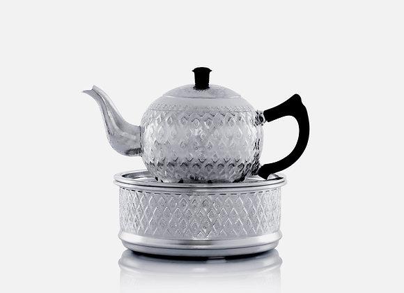 Tea pot and tray