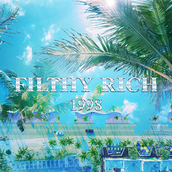 Cover art for Flithy Rich 1998 single