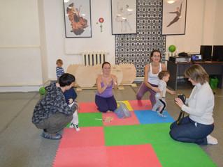 Занятия  по раннему развитию в Центре творчества и спорта ECS уже начались!