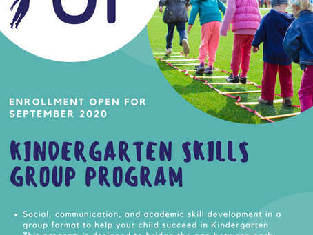 Kindergarten Skills Group