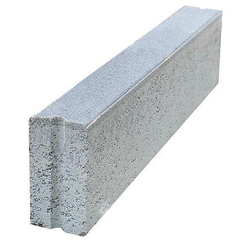 Heel Kerb 600x75x150mm Grey