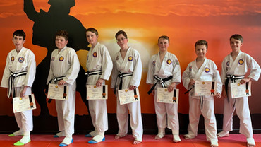 Our Latest Black Belts