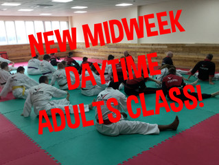 New Daytime Adult Class for 2020!