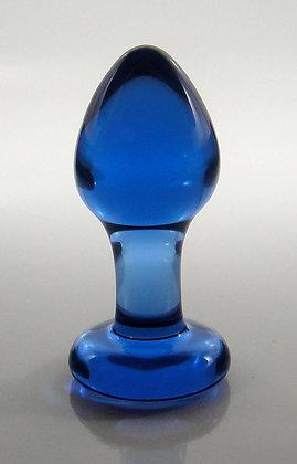 Extra Small Blue Rosebud Plug