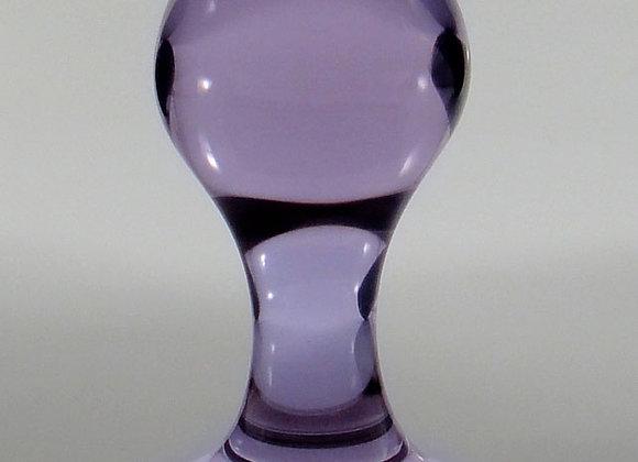 Small Violet Rosebud Plug