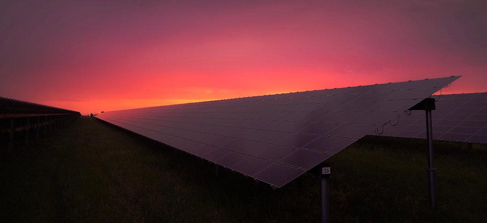 Photovoltaik Freifläche Anlage