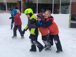Annual grades ice skating field trip