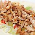 Chicken Shawarma Plate( Served with Alsultan  Small Bread\2P)